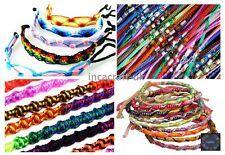 Lot 500 Mix Friendship Bracelets Wristband Peru Art-Summer Festivals -Stock UK