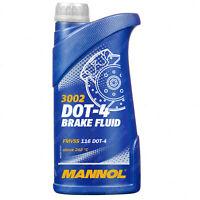 MANNOL Brake & Clutch Fluid DOT 4 Above 240°C FMVSS 116 DOT 4 ISO 500ml