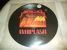 METALLICA - WHIPLASH LP MEGAFORCE ORIG UN-NUMBERED PICTURE DISC VG- HEAVY METAL