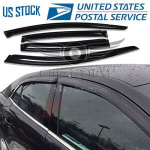 For 2008 2009 2010 2011 2012 Chevrolet Malibu Deflector Window Visors Rain Guard