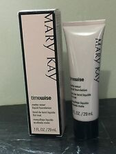 Mary Kay TimeWise Matte-Wear Ivory 5 Liquid Foundation 1 fl. oz.  New in Box
