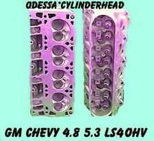GM CHEVY 4.8 5.3 OHV LS4 SILVERADO TAHOE EXPRESS CYLINDER HEADS 99-05 REBUILT