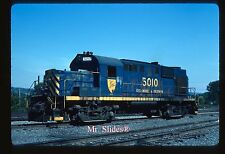Original Slide D&H Delaware & Hudson Blue Paint ALCO RS11 5010 In 1985