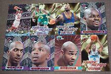 Michael Jordan 1995 TOPPS STADIUM CLUB insert Official Basketball 8 Card lot