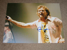EDDIE VEDDER PEARL JAM SIGNED COLOR 11X14 Photo W/PROOF