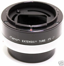 Canon FD anello macro Extension tube FD 25 originale