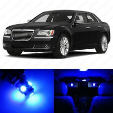 13 x Ultra Blue LED Interior Light Package For 2011- 2014 Chrysler 300 300C