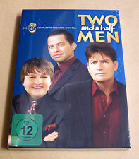 DVD Box Two and a Half Men - Staffel 6 blau - Mein cooler Onkel Charlie Neu OVP