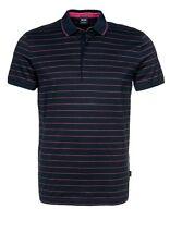 NWT Hugo Boss Black Label by Hugo Boss Fancy 4 button Luxury Cotton Polo Shirt