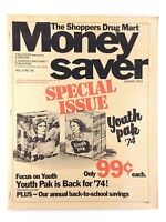 Vintage 1974 Shoppers Drug Mart Money Saver Volume 6 Number 56 Sales Flyer M153