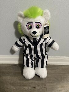 BUILD A BEAR BEETLEJUICE STUFFED ANIMAL PLUSH 6 IN 1 PHRASES NEW WITH TAGS