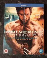 WOLVERINE & ORIGINS BLURAY DOUBLE PACK NEW & SEALED MINT CONDITION