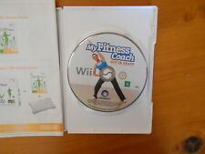 Wii MY FITNESS COACH  DISC IN V GD COND - FAST POST