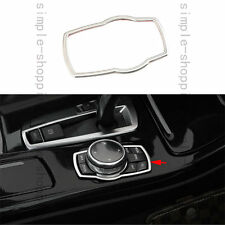 Steel Inner Multimedia Button Frame Cover Trim For BMW 7 Series F01 F02 10-2015