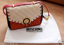 vintage MOSCHINO CHEAP AND CHIC quilted shoulder bag with Ship's Wheel nice