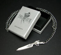 Final Fantasy VIII Squall Gunblade Necklace FF8 Cosplay Anime Cloud