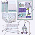 Carter's Zoo Collection 6 Pc. Crib Bedding Set Includes Liner  Mobile