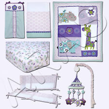 Carter's Zoo Collection 6 Pc. Crib Bedding Set (Includes Liner & Mobile)