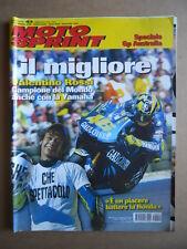 MOTOSPRINT n°42  2004 [Q79] TEST  TRIUMPH TRUXTON 900