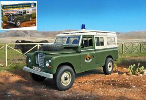 Land rover serie iii 109 guardia civil kit 1:35 auto scala italeri