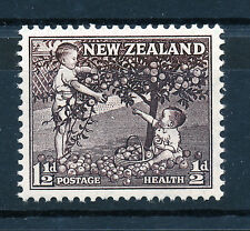 NEW ZEALAND 1956 HEALTH STAMPS SG755a (blackish-brown) BLOCK OF 4 MNH