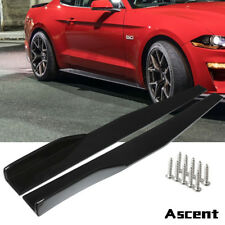 Car Body Kit Universal Side Skirt Rocker Splitters Winglet Wings Canard Diffuser