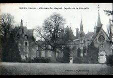 MERS (36) CHATEAU du MAGNET & CHAPELLE avec GIROUETTE-COQ début 1900