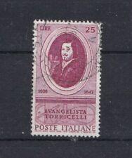Italia Repubblica  1958 Anniversario nascita di Torriceli 842 usato