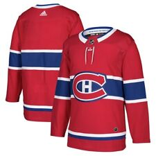 Montreal Canadiens Adidas Home Red Authentic Premier Blank Jersey