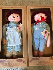 Raggedy Ann & Andy Exposition Reproduction Dolls