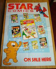 Star Comics promotional poster - spider-ham - fraggle rock - ewoks - heathcliff
