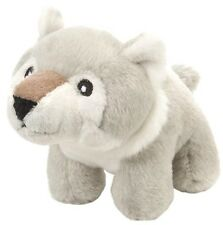 """Pudgy Pals 4.5"""" cuddly plush wolf toy by Wild Republic"""