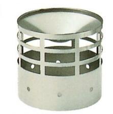 terminale di scarico Ø 80 mm 8 cm per tubi canna fumaria stufa a pellet acciaio