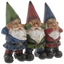 See Hear Speak No Evil Gnomes