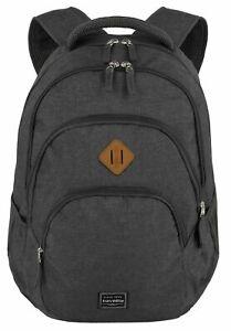 travelite Basic Melange Backpack Rucksack Laptoptasche Tasche Anthracite Grau