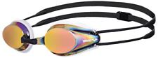 Arena- Tracks Mirror Swimming Goggles- White-