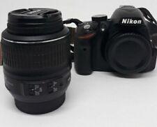 Nikon d3200 24.2 mp DSLR cámara negro con NIKKOR AF-S DX VR 18-55mm