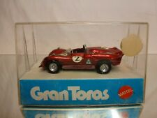 MEBETOYS GRAN TOROS 66 ALFA ROMEO 33/3 #2 - RED 1:43 RARE - VERY GOOD IN BOX