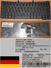Tastiera Qwertz Tedesca ACER TM6492 6492 6492G 9J.N8882.C0G PK1304P01A0 Nero