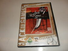 PC  Jack the Ripper [Back to Games)