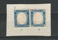 FRANCOBOLLI - 1863 REGNO EFFIGIE C.15 AZZURRO MLH E/5269