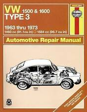 VW Type 3, 1500 and 1600, 1963-1973 (Haynes Manuals)-ExLibrary