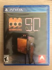 Factorum 90 for  PS VITA - BRAND NEW AND SEALED - LIMITED RUN GAMES - LRG