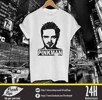 Pinkman Jessy T Shirt Heisenberg Breaking Bad Walter White Blue Meth Los Pollos