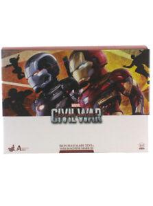 Hot Toys Iron Man & War Machine Mark II Artist Mix Set Captain America Civil War