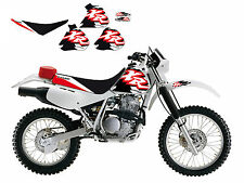 New BB XR 250 400 96-06 Tank Decals Stickers Graphics Seat Cover Kit Enduro