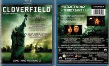 Blu-ray Lizzy Caplan CLOVERFIELD Matt Reeves J J Abrams monster movie OOP A/B/C