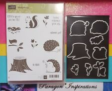 NEW Stampin Up HEDGEHUGS Stamps & Matching Framelits Not Dies By Dave Hedgehogs