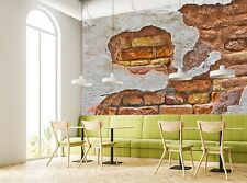 Wall Mural Photo Wallpaper Old Brick Wall  GIANT WALL DECOR Free Glue