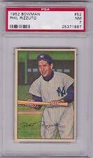 1952 Bowman Phil Rizzuto #52, HOF, PSA NM 7 (1887)